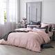 澳洲Simple Living 雙人天絲福爾摩沙被套床包組-台灣製(玫瑰粉) product thumbnail 1
