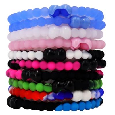 Pro Hair Tie 扣環髮圈10件組-混色螢光
