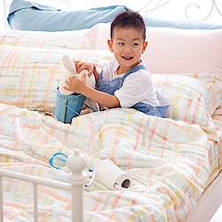 OLIVIA FANTA 橘粉 標準雙人床包被套四件組 天絲™萊賽爾 台灣製