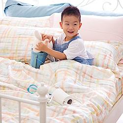 OLIVIA FANTA 橘粉 加大雙人床包被套四件組 天絲™萊賽爾 台灣製