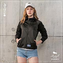 ROUSH 女生立領運動連帽外套(3色)