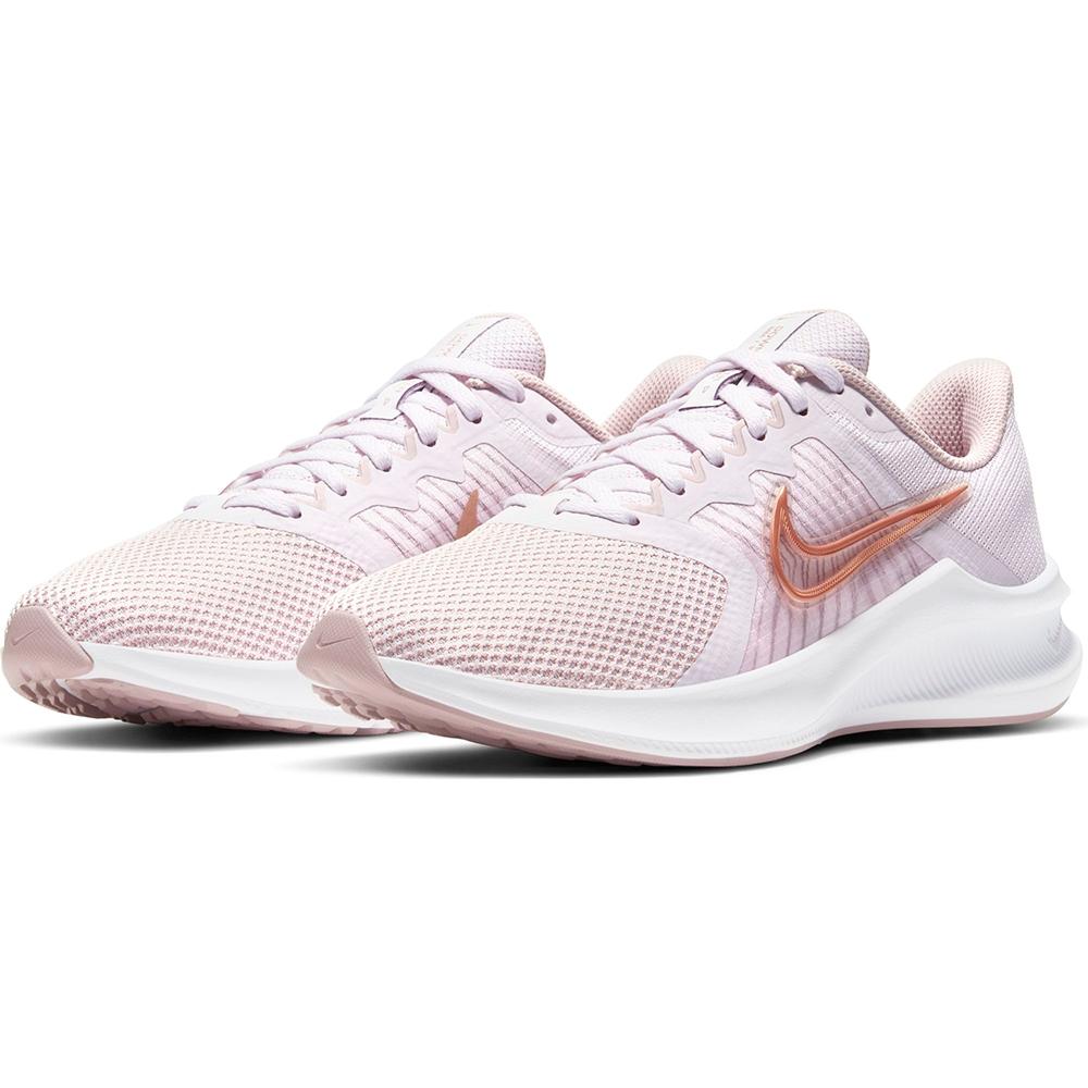 NIKE 耐吉 慢跑鞋 運動鞋 訓練 女鞋 粉 CW3413-500 WMNS DOWNSHIFTER 11