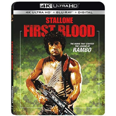 第一滴血 Rambo First Blood 4K UHD+BD 雙碟限定版