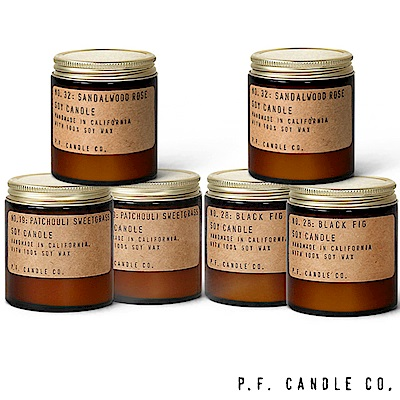 美國 P.F. Candles CO. 原廠箱裝六入組
