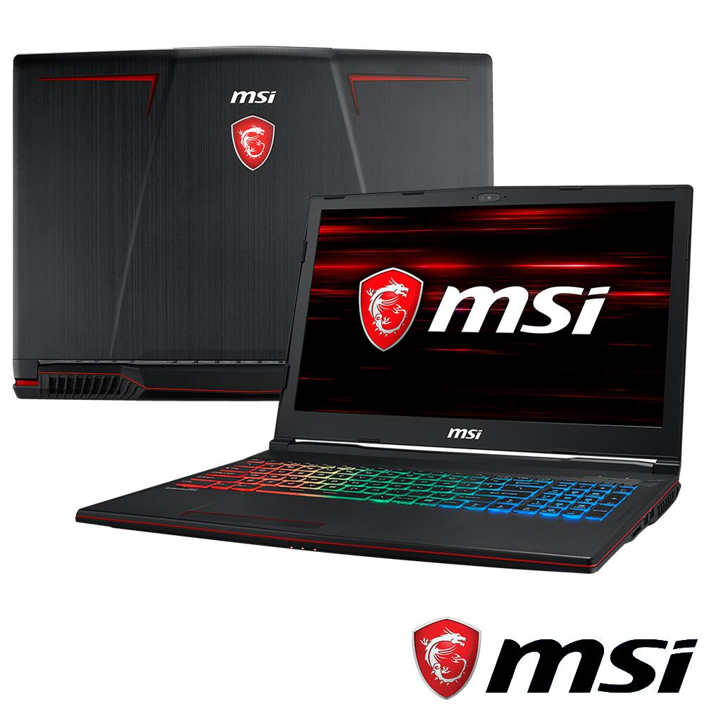 MSI微星 GP63-681 15吋電競筆電(i7-8750H/8G/GTX1070)