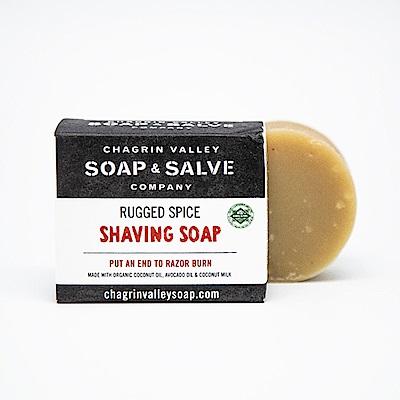 美國Chagrin Valley 有機男性專用丁香可可那剃鬍皂 手工皂 3 OZ