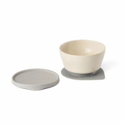 Miniware 天然寶貝竹纖維兒童餐碗 【贈防漏矽膠蓋】(3色可選)