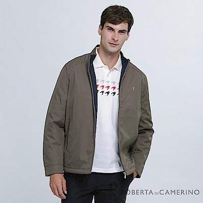 ROBERTA諾貝達 簡約百搭 內裡舖棉夾克外套 深褐