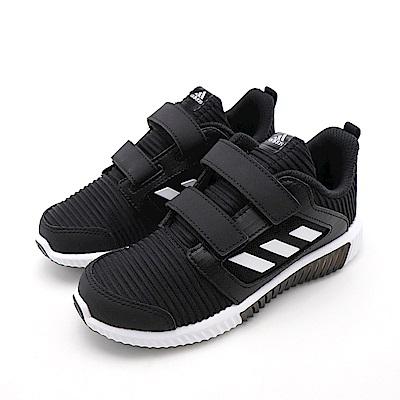 ADIDAS-中童慢跑鞋BD7174-黑