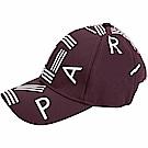 KENZO 品牌幾何LOGO尼龍棒球帽(波爾多紫)