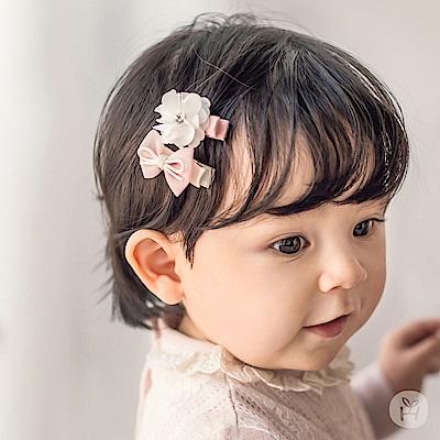 Happy Prince韓國製 Belle女嬰兒童髮夾2件組-多色