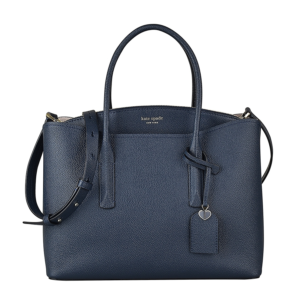 Kate Spade MARGAUX牛皮拉鍊兩用包(大/深藍) product image 1
