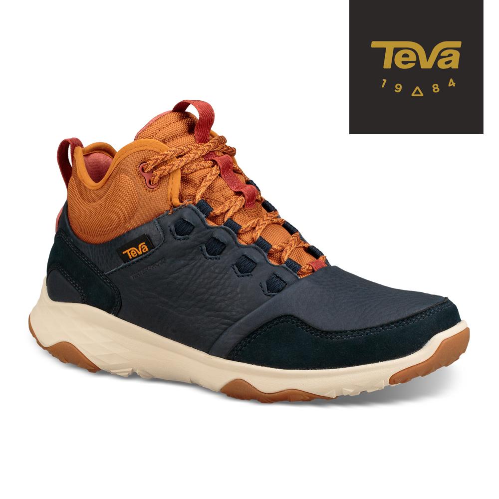 TEVA 美國-男 Arrowood 2 Mid WP 中筒防潑水休閒鞋 海軍藍