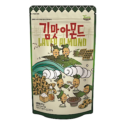 韓國Toms Gilim 杏仁果-海苔味(210g)