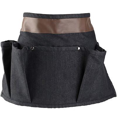 CreativeTops 半身短圍裙(單寧黑)