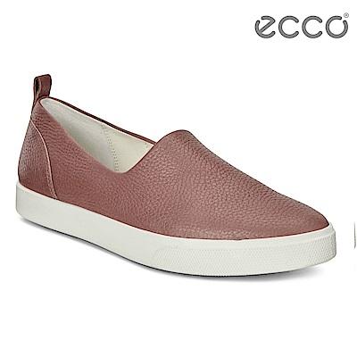ECCO GILLIAN質感時尚尖頭樂福鞋 女-棕
