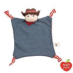 美國 Apple Park 農場好朋友系列 有機棉安撫巾 - 農場男孩