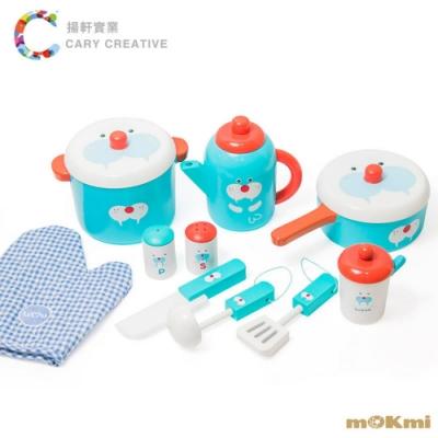 mOKmi x umu 木可米木製家家酒-10件鍋具組