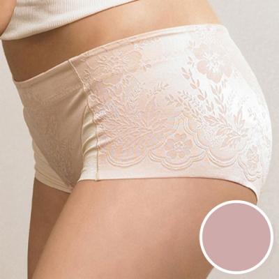 華歌爾 BABY HIP 64-82低腰短管修飾褲(晶鑽粉) 壓腹提臀-無縫無痕