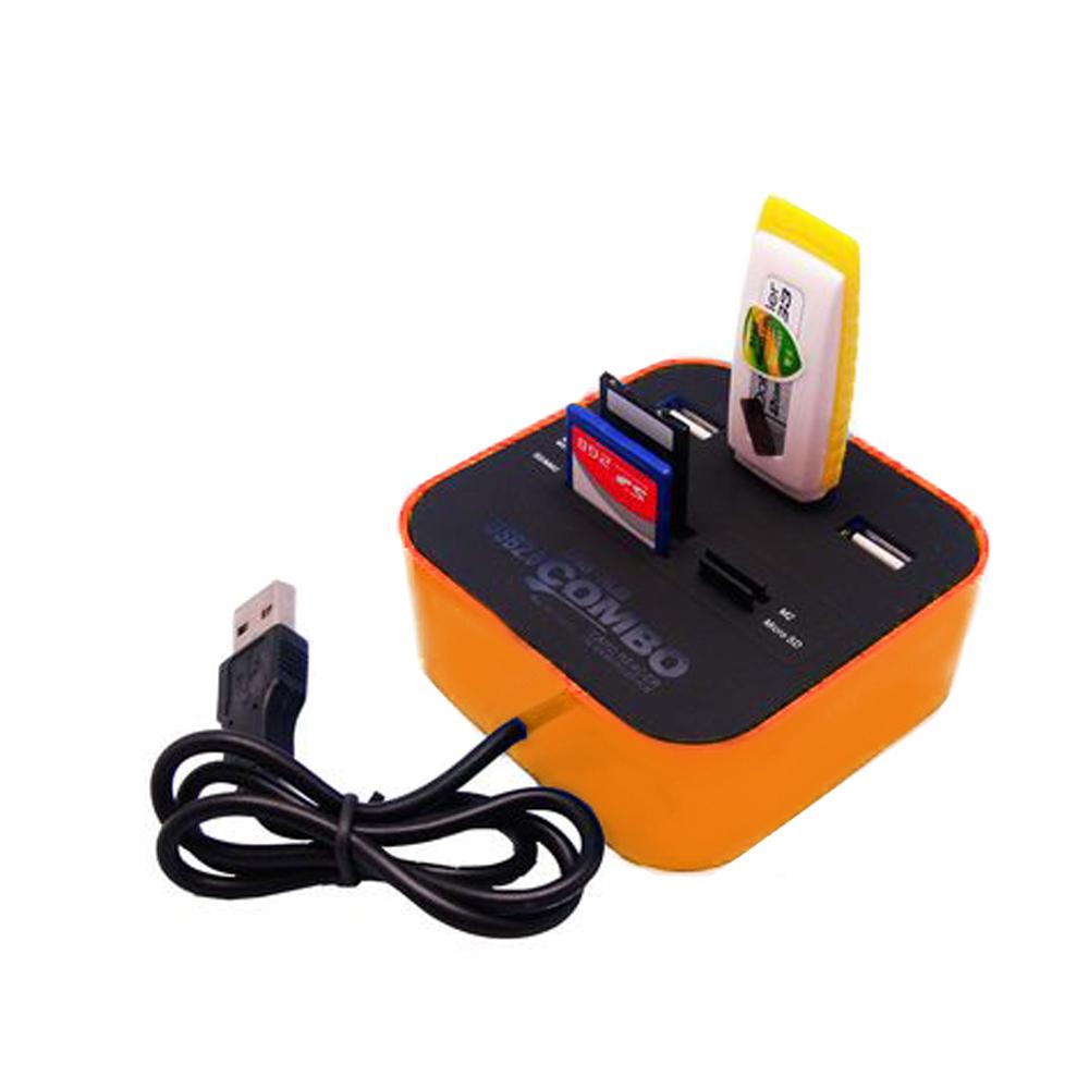 USB2.0 多功能3 Port HUB / 讀卡機 product image 1