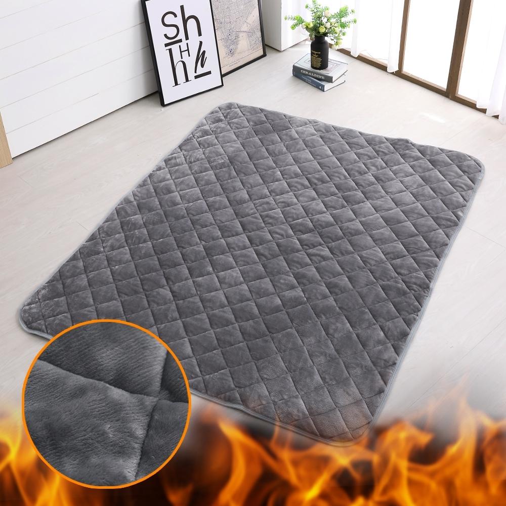 鴻宇 SuperHot科技發熱雙人保暖墊 獨家四層工藝 免插電 蓄熱保暖