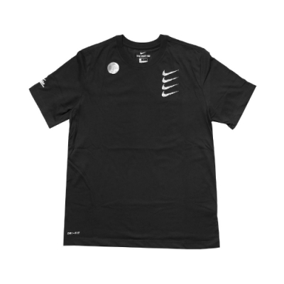 Nike T恤 Graphic Training Tee 男款 Dri-FIT 吸濕排汗 快乾 運動休閒 黑 白 CT6465010