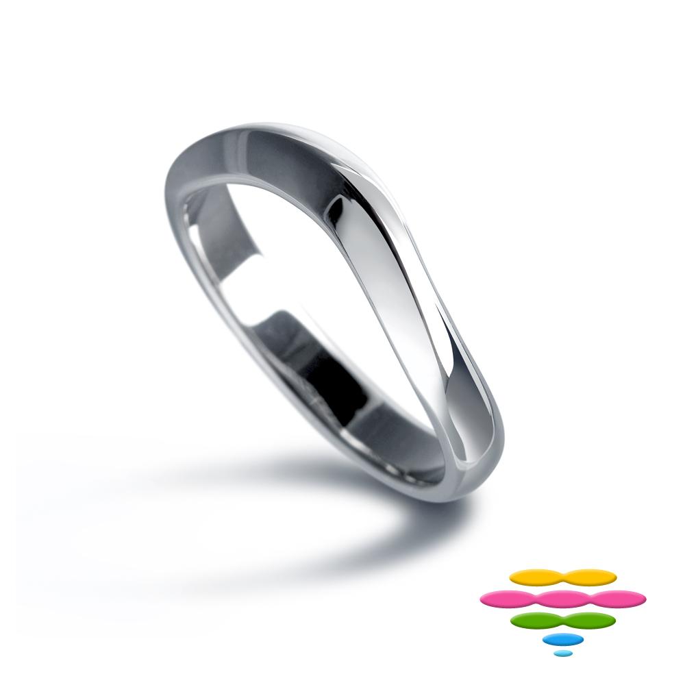 彩糖鑽工坊 K金戒指 (寬版) 思念系列
