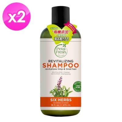 美國沛特斯 有機成份草本複方強健洗髮精(16oz/475ml)-2入組