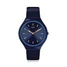 Swatch SKIN 超薄系列手錶 SKINAZULI 超薄-湛藍-36.8mm