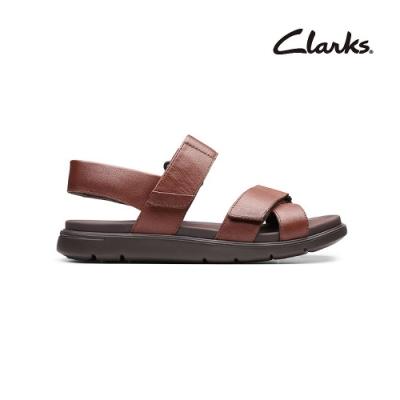 Clarks   樂遊夏日  UnWilmore Band   男涼拖鞋  紅褐色   CLM48660SS20