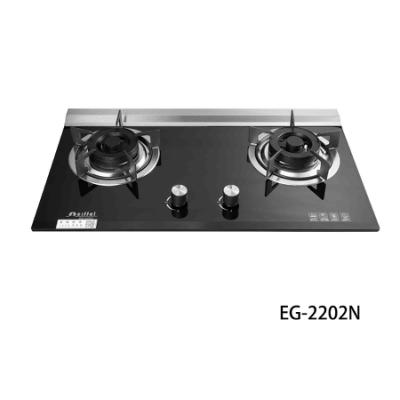 【愛菲爾eiffel】2級節能兩口檯面瓦斯爐天然瓦斯(節能瓦斯爐檯面爐天然瓦斯)