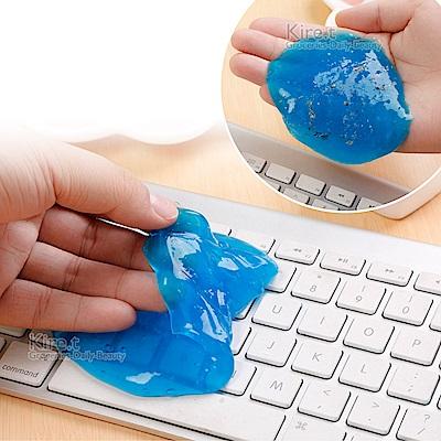 黏TT 萬用清潔膠/黏膠/神奇去塵膠4入-贈USB鍵盤吸塵器1組kiret