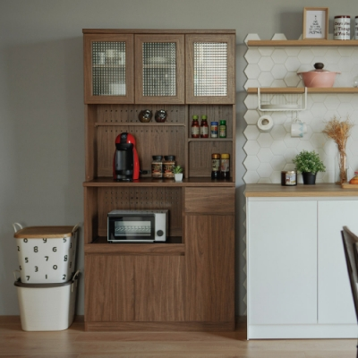 完美主義 多功能廚房櫃/餐櫃/電器櫃/餐廚櫃-180(2色)