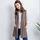 【白鵝buyer 】韓國製長版背心夾克(3色可選)