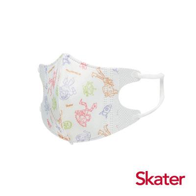 Skater幼兒立體口罩- 玩具總動員(5入/包)共6包