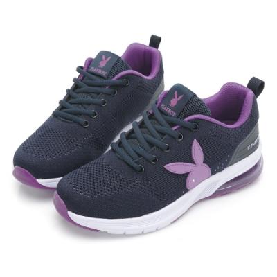 PLAYBOY Candy Bubble Ⅱ 輕量氣墊休閒鞋-藍紫-Y7236FA