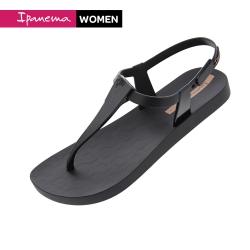 IPANEMA SENSATION SANDAL簡約幾何T字涼鞋-黑