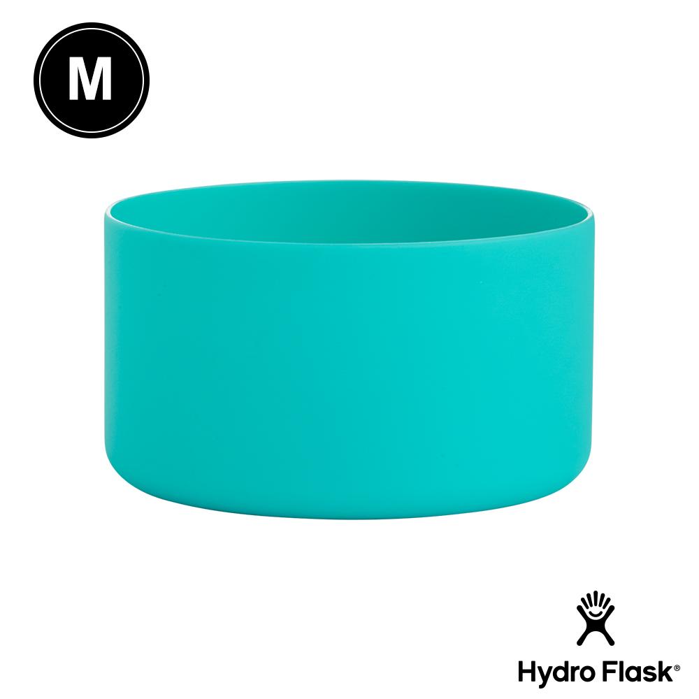美國Hydro Flask 彈性矽膠防滑瓶套 薄荷綠 M