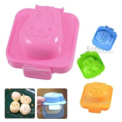 kiret 日本DIY可愛實用立體飯糰/蛋模具-超值4入+贈蛋模