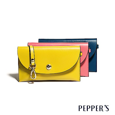 PEPPER`S Audrey 牛皮信封長夾 - 3色