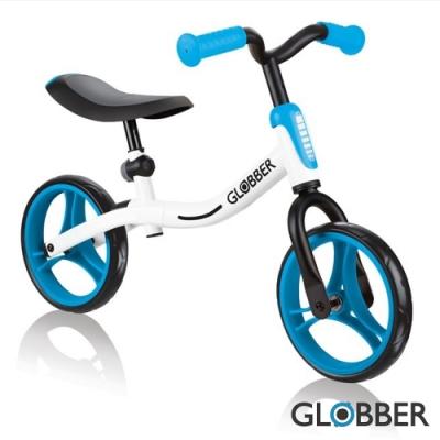 法國Globber - Go-Bike兒童平衡車-白藍