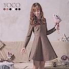 東京著衣-YOCO 古典美人唯美全蕾絲修身洋裝-S.M.L(共六色)