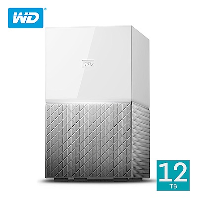 WD My Cloud Home Duo 12TB(6TBx2)3.5吋雲端儲存系統