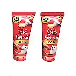 日本 CIAO 乳酸菌肉泥膏 CS-151 鮪魚 80g x 2入