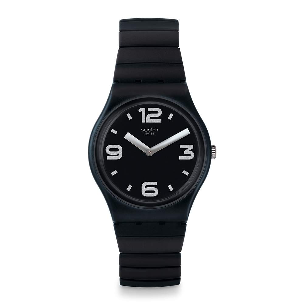 Swatch Gent 原創系列手錶 BLACKHOT S -34mm