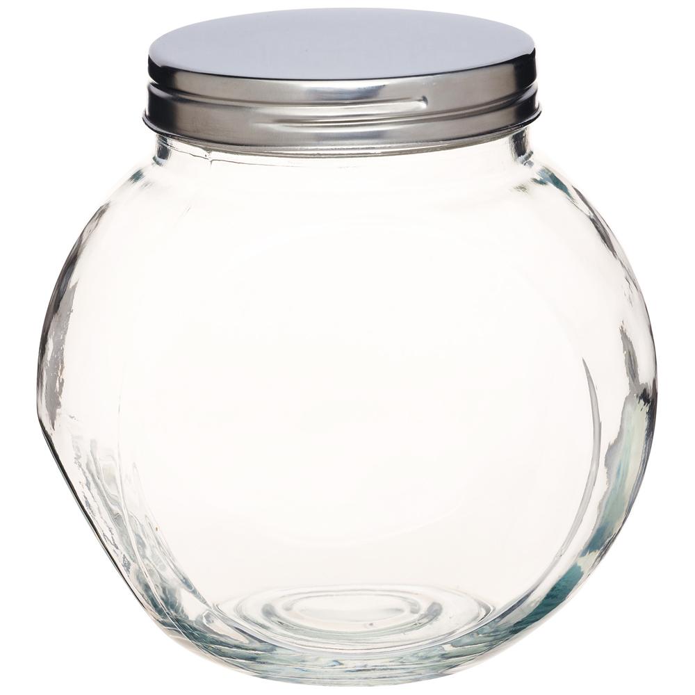 《KitchenCraft》斜式玻璃密封罐(1400ml)
