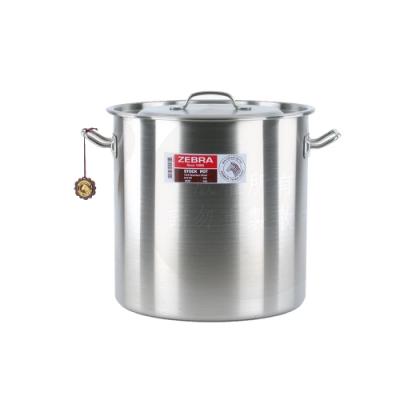 ZEBRA斑馬26公分不鏽鋼深型滷桶/湯鍋(26x26cm/13.8L)