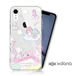 KikiLala 雙子星 iPhone XR 彩繪水鑽手機空壓殼 - 城堡