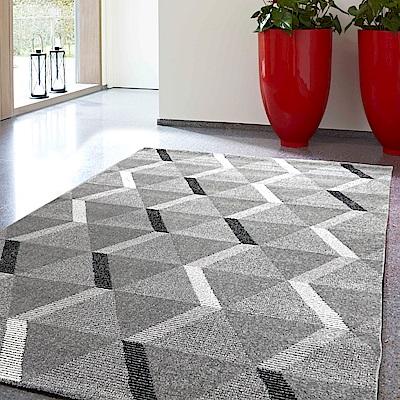 范登伯格 - 薇拉 現代地毯 - 晶鑽 (灰 - 240 x 330cm)