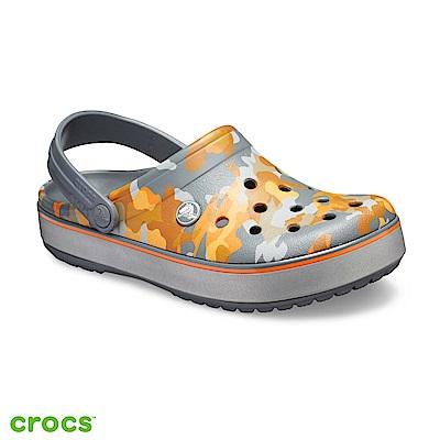 Crocs 卡駱馳 (中性鞋) 卡駱班印花克駱格 205834-02Q